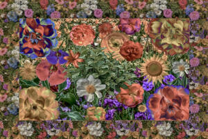 Bild008d-Flowers053-Art-Rahmen-HDR-Düster