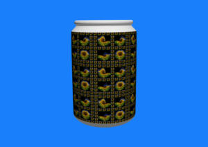 Fliesen041h-3D-FlowersS1-Sonne6-Art