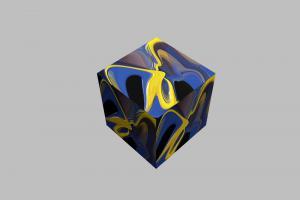 3D-Würfel-002j-Sonnenblume-Ausstellung