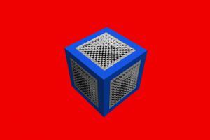 3D-Würfel-3D-011b-Serie S1-Schach 11Q