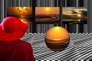 Wangerooge1997-Sonnenuntergang01a - Kopie - Kopie