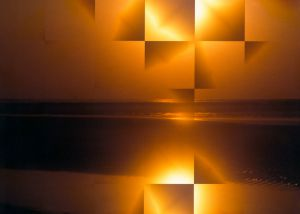 Wangerooge1997-Sonnenuntergang01b - Kopie - Kopie