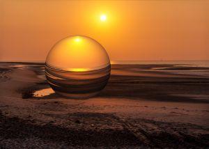 Wangerooge1997-Sonnenuntergang02d - Kopie