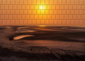 Wangerooge1997-Sonnenuntergang02h