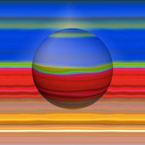 Glasobjekte-SerieE4-Erdkugel15P