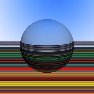 Glasobjekte-SerieE4-Erdkugel16P