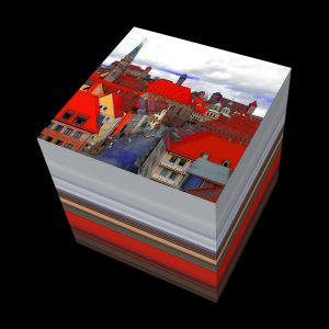 3D-Serie N1-Burg2