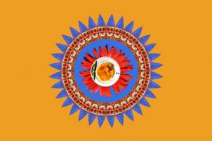 Clown-Azur041-orange
