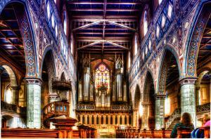Kirchen037a-7920 3 Malerisch 4-BiColor-Art