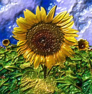 Glasobjekte-FlowersS1-Sonne13p
