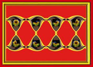 Sonnenblumen018d-SerieS5-Rot-Art
