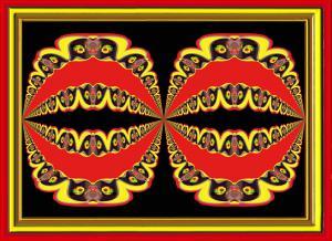 Sonnenblumen018f-SerieS5-Rot